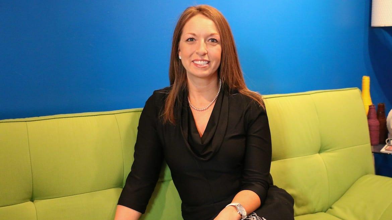 Rachel Hack Merlo in Google's Kansas City, Ks., Office.