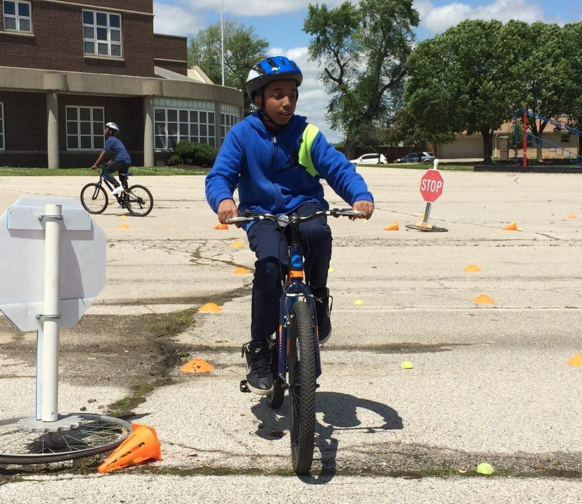 One KC education program aims to get more KC kids on their bikes