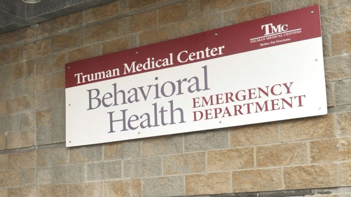 Entrance to the Truman Behavioral Health Emergency Department