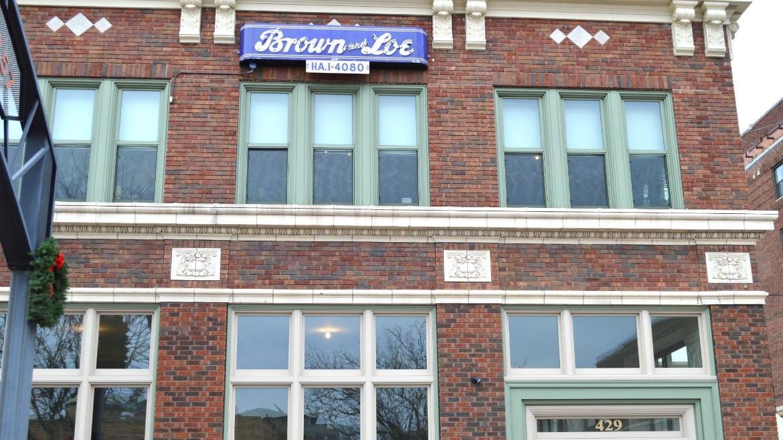 Brown & Loe is open.