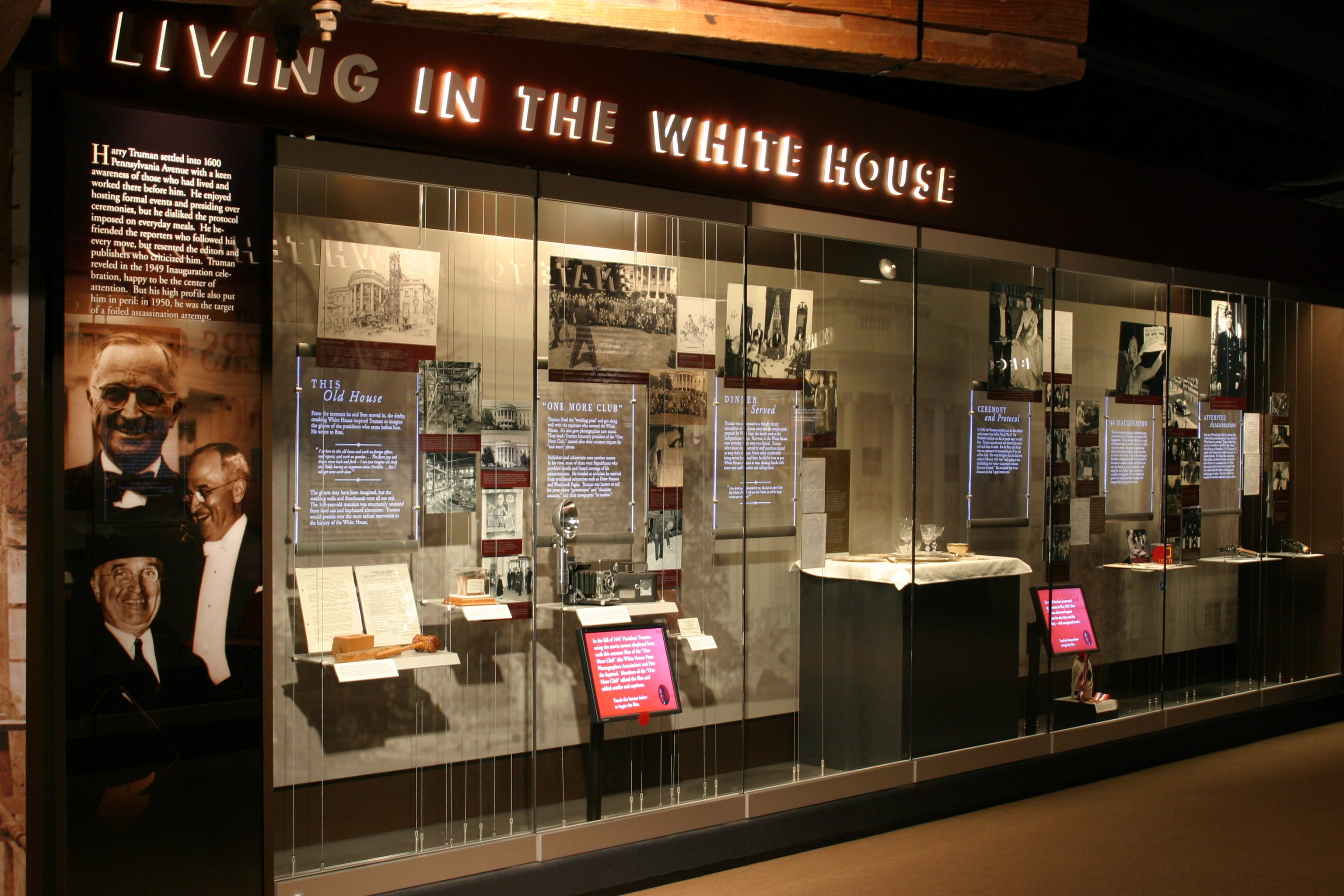 Eisterhold Associates Inc. also created the Presidential Years display at the Truman Library and Museum. (Photo: Bruce Mathews | Courtesy of the Harry S. Truman Library and Museum)