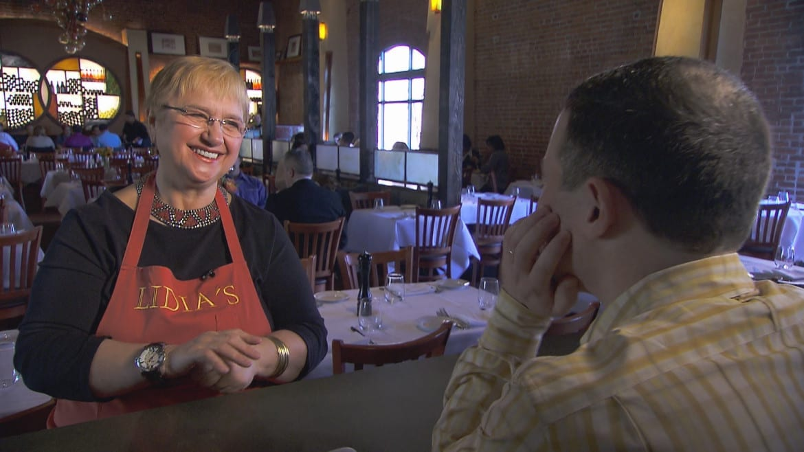 Lidia Bastianich sits down with Flatland in her KC restaurant in time for Kansas City Restaurant Week. (Video: Dave Burkhardt | KCPT; Video editing: Cole Blaise | Flatland )