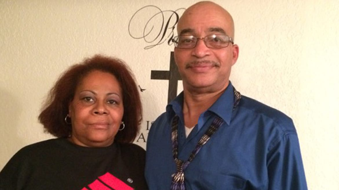 Former Wyandotte County residents Yolanda and Carl McKinney, who now live in Overland Park, say they're surprised by Johnson County's lax attitudes toward alcohol. (Photo: Alex Smith | Heartland Health Monitor)