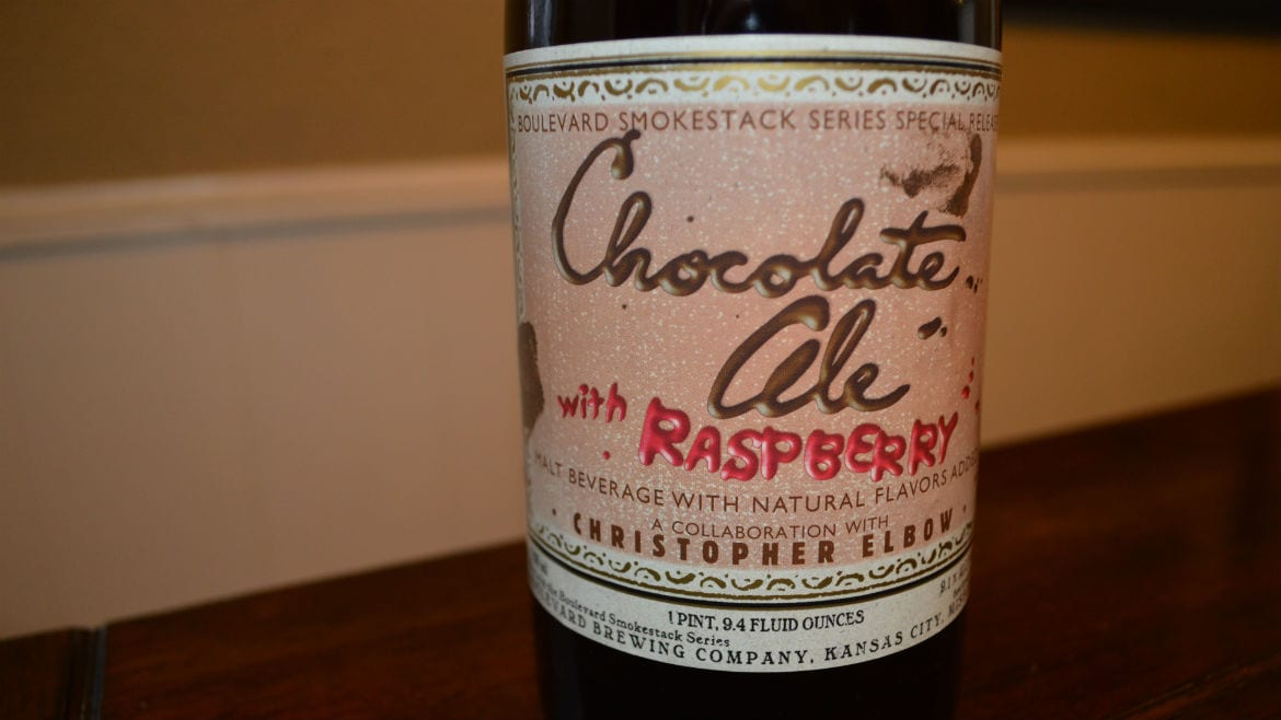 The fourth iteration of Boulevard's Chocolate Ale features raspberry. (Photo: Jonathan Bender | Flatland)