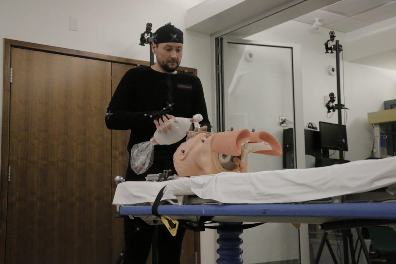 Sean Gamble, anesthesiology resident