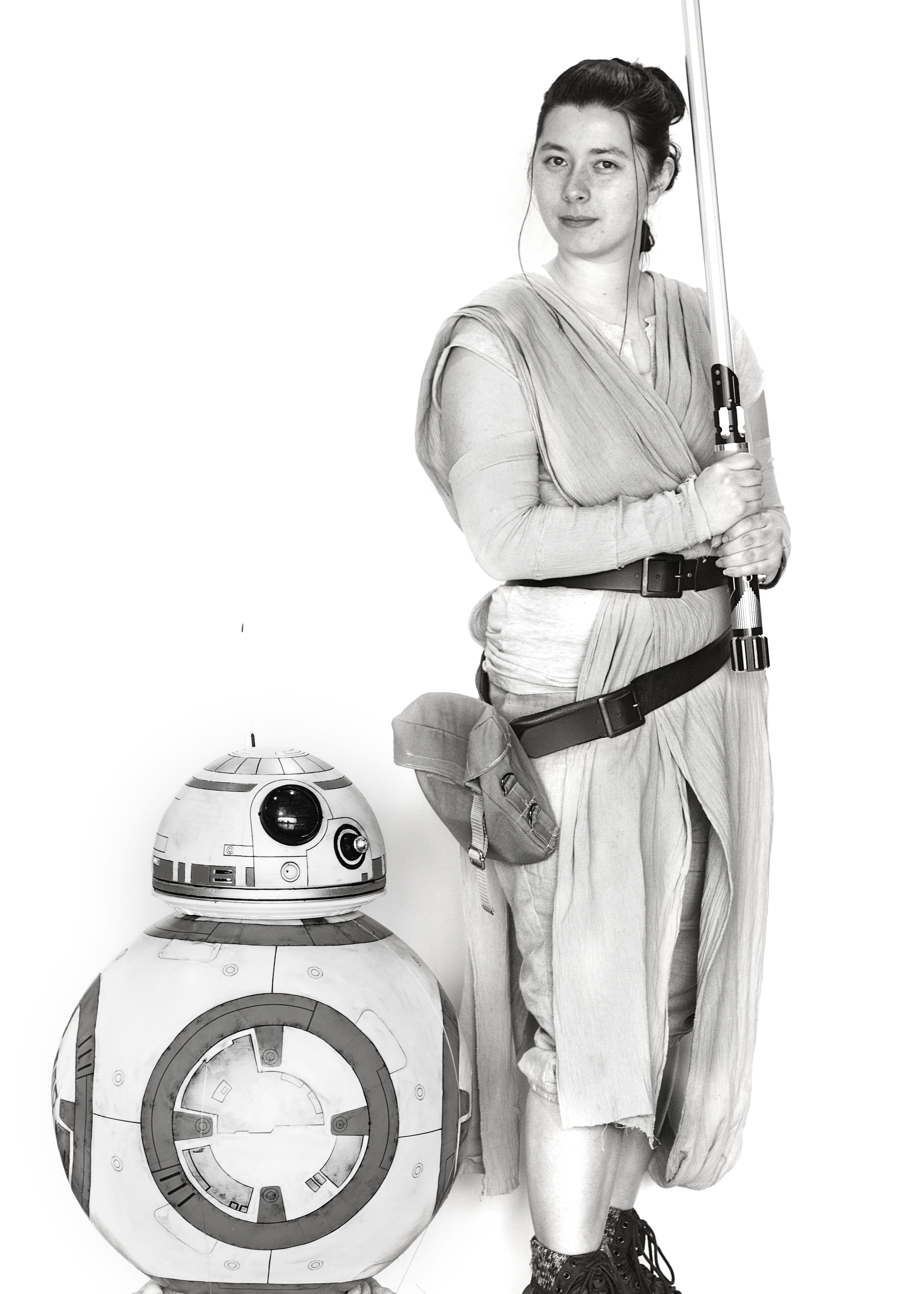 Madelyn Anderson Rey & BB8