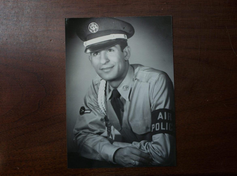 A soldier in uniform