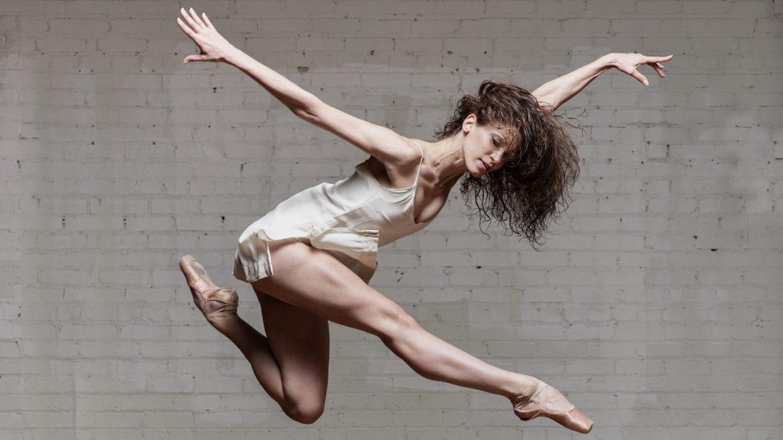 A dancer mid-flight