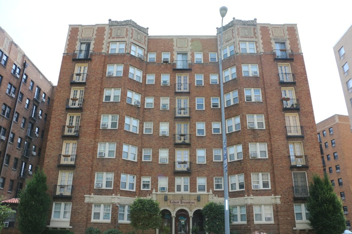 The Robert Browning apartment building