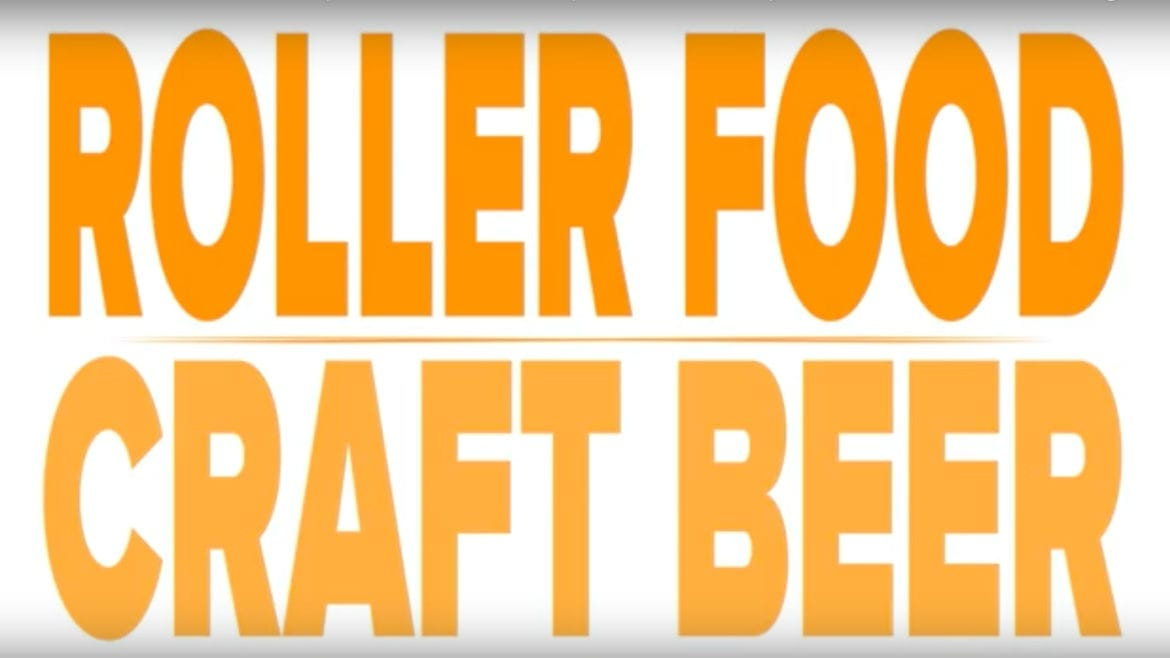 Roller Food and Craft Beer label