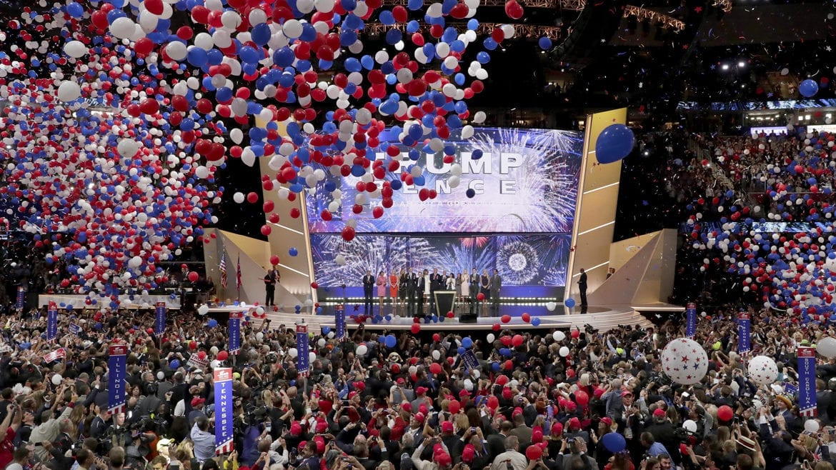 The Republican National Convention.