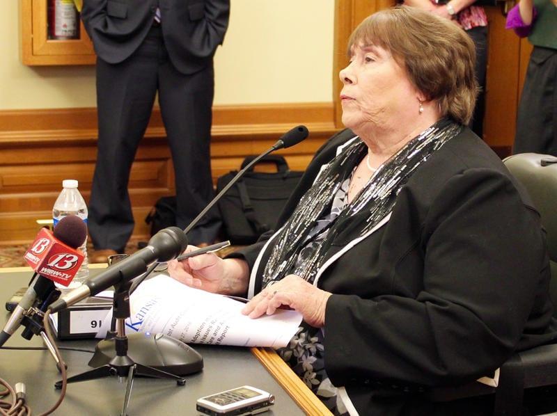 Gilmore testifying