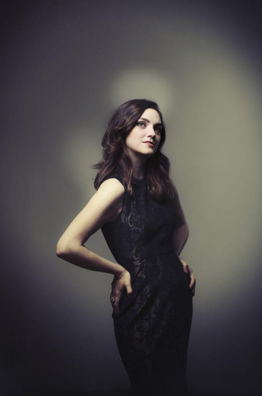 Portrait of mezzo-soprano, Samantha Gossard. photo by JIM BARCUS