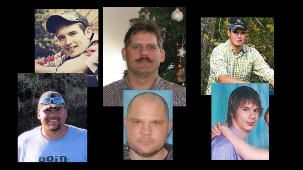Six men who were victims of a grain elevator explosion