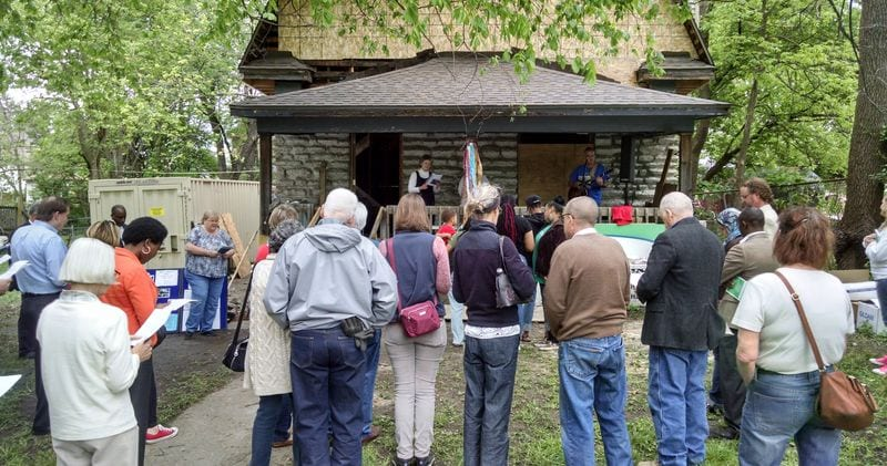 dedication of the fifth house in May