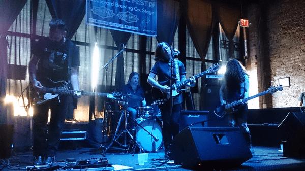 Band Emmaline Twist playing on stage
