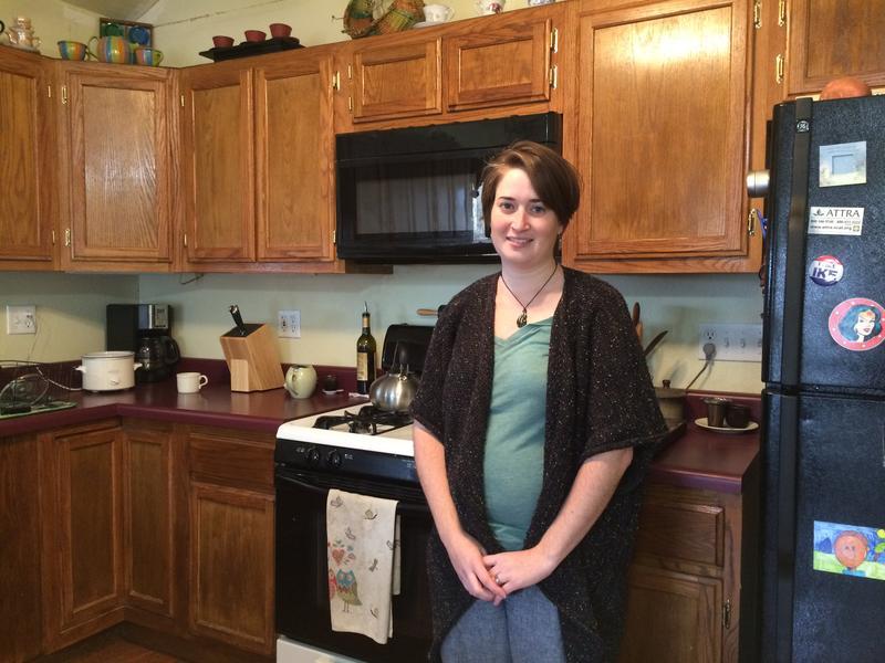 Rachel Goldberg in her kitchen