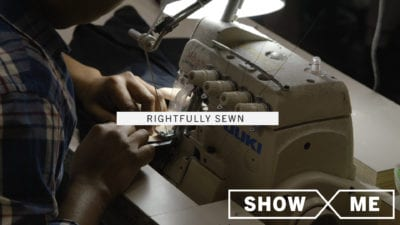 Rightfully Sewn | Designing a Garment District Revival