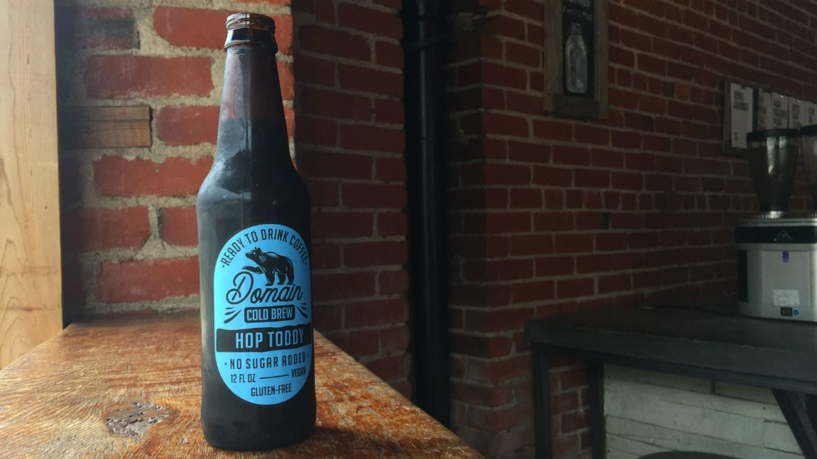 A bottle of Domain Cold Brew