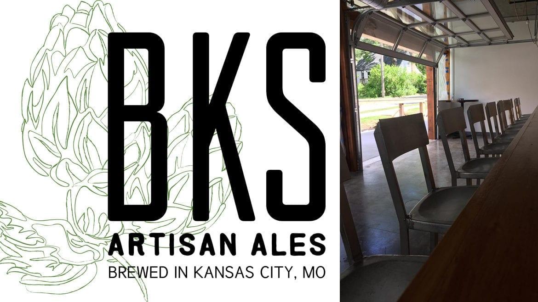 BKS Artisan Ales logo and taproom