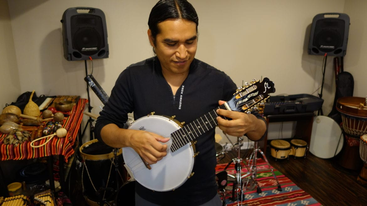 Espinoza even makes fusion instruments. This is a