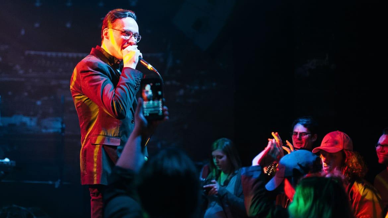 Joe Stanziola, performing at the recordBar as Second Hand King