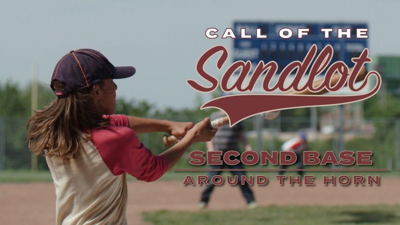 "A boy hits a baseball for ""Call of the Sandlot"""