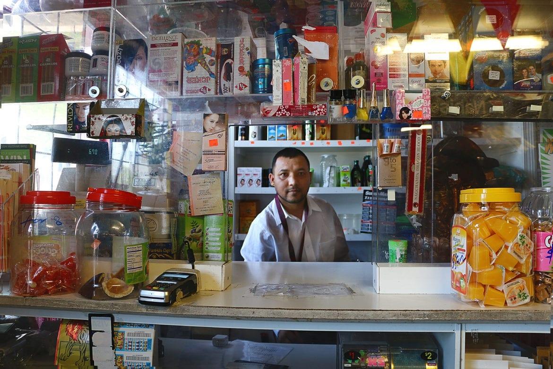 bhutanese store owner