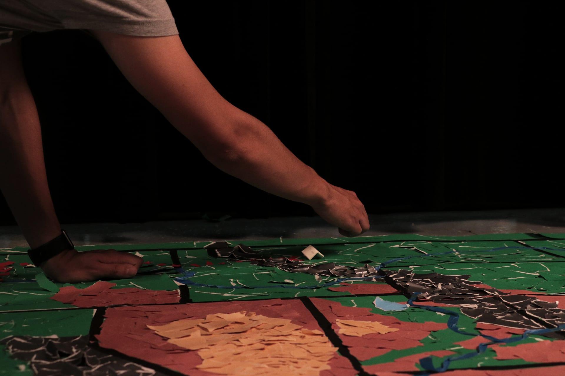 Stop motion map making
