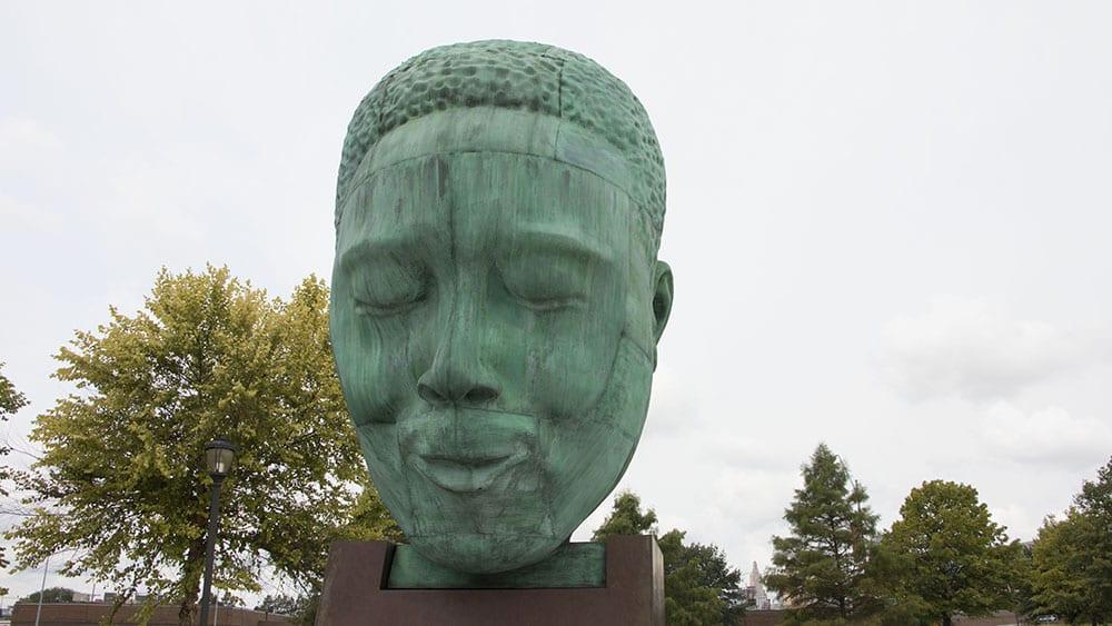 Charlie Parker Memorial statue