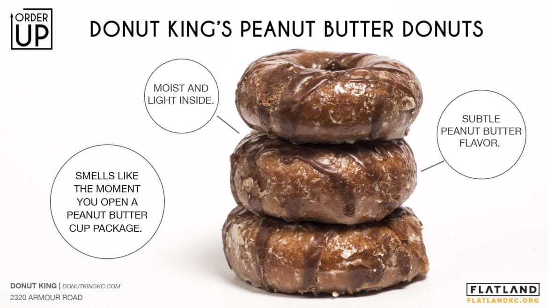donut king peanut butter donuts