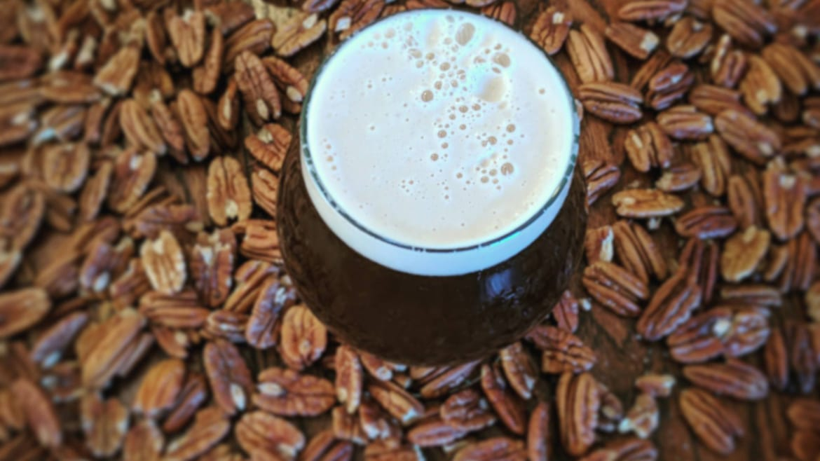 Border Brewing's Pecan Brown Ale