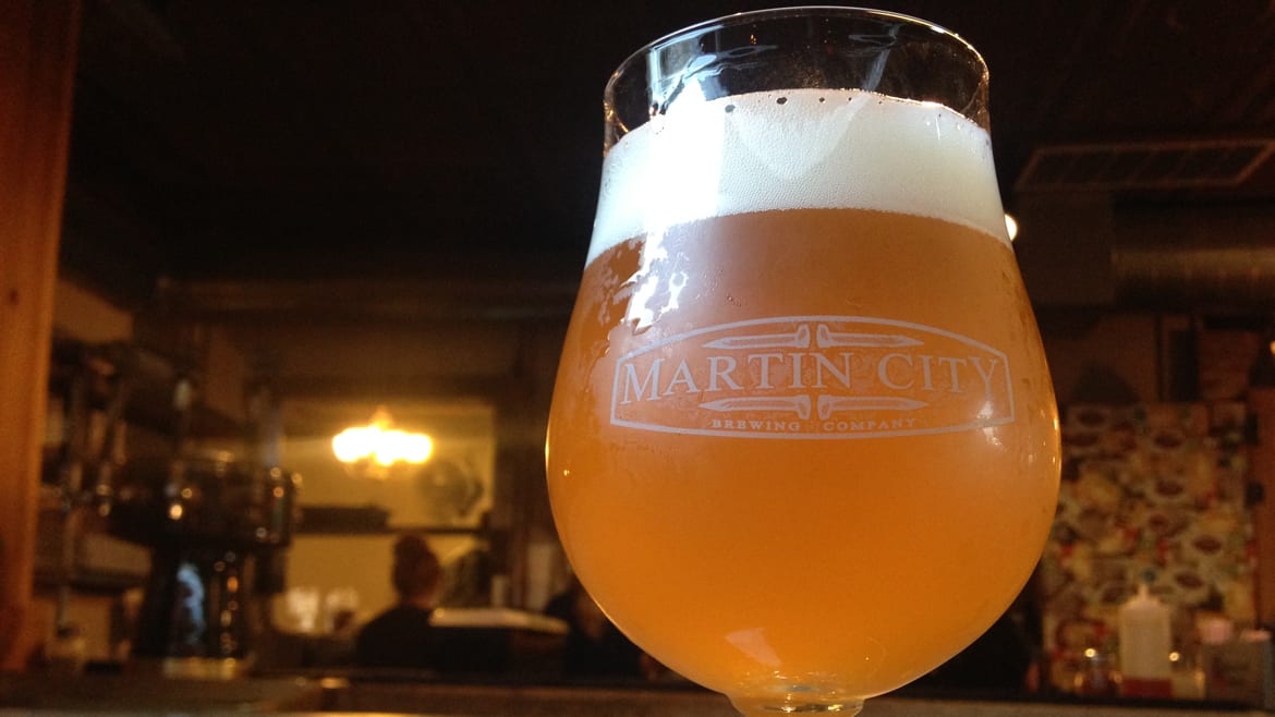 Martin City Brewing Co.'s Five Second Rule