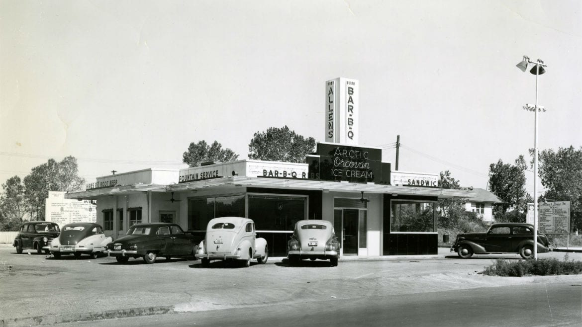 Allen S Drive In Was The First Burger Business For Wayne Jones And William Fielder Courtesy Of Johnson County Museum