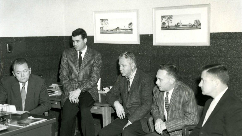 Wayne Jones, Ted Llewellyn, and Bill Fielder,