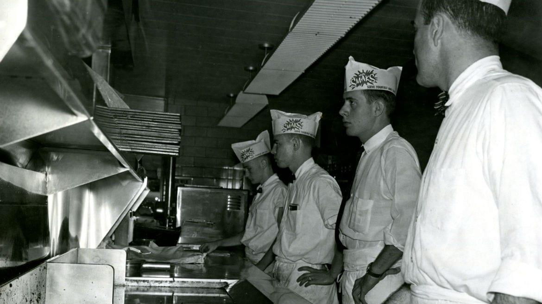 quartet of burger chefs