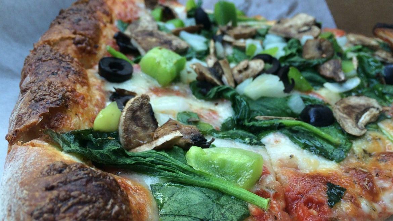 Papa Keno's Pizzeria pizza