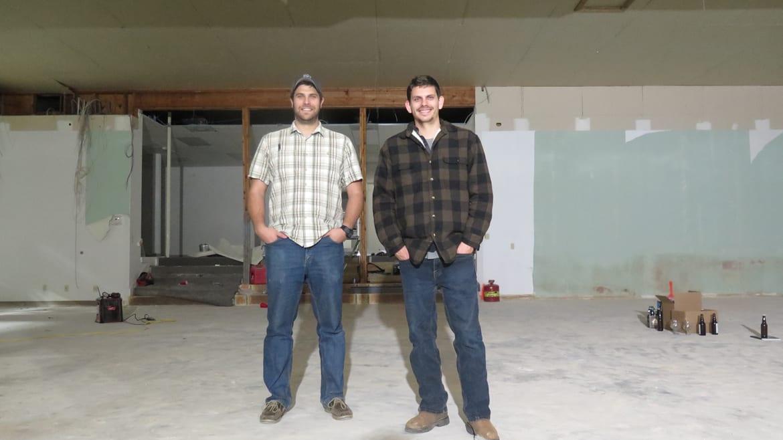 Mac Lamken (left) and Devin Glaser