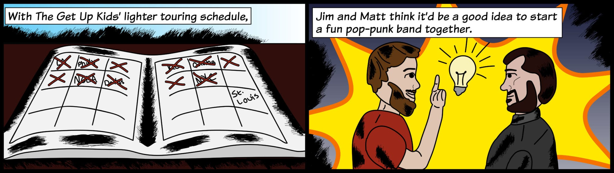 Jim and Matt join for a pop-punk band