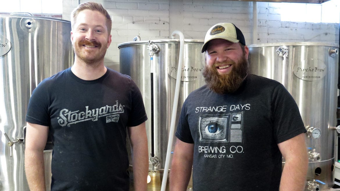 Strange Days Brewing's Nathan Howard and Alec Vemmer
