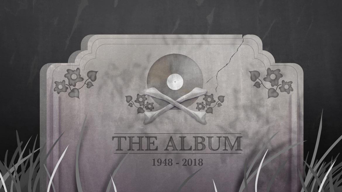 A tombstone for the album format