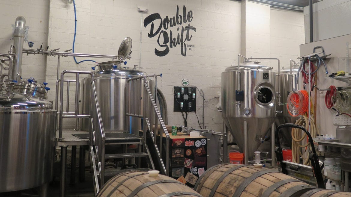Double Shift Brewing expanded its brewhouse capacity
