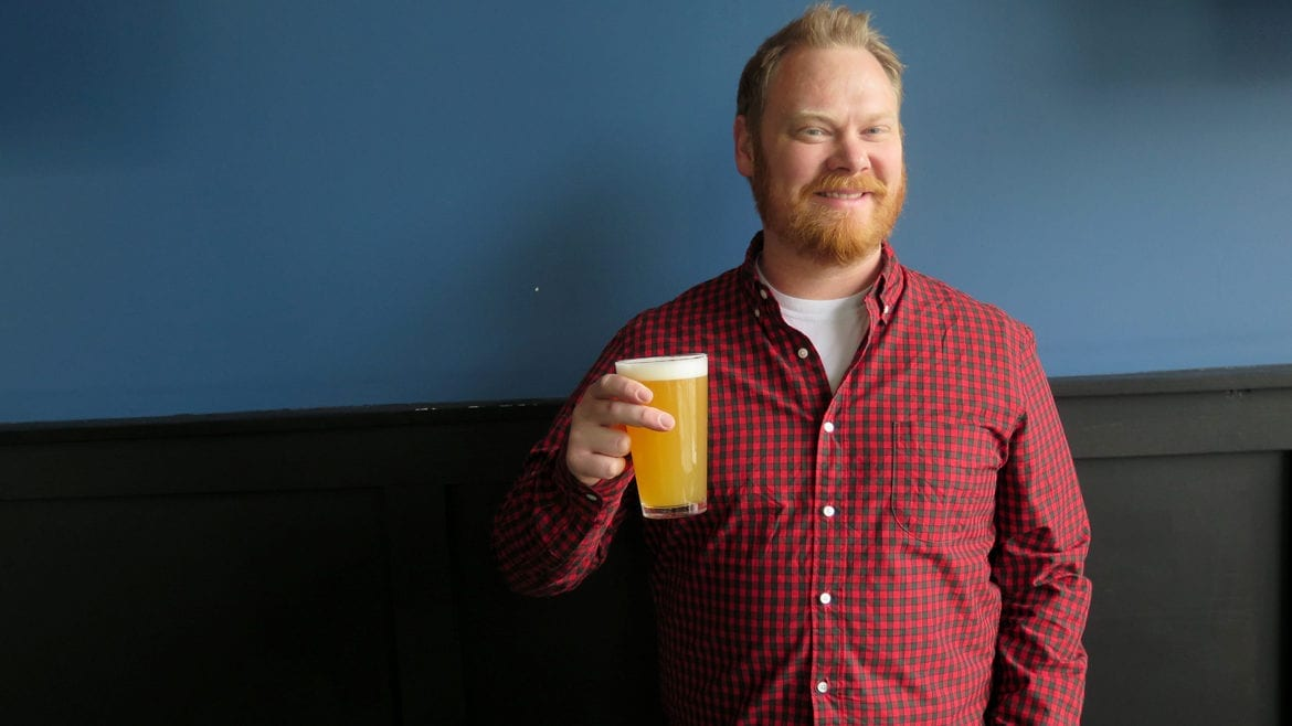 City Barrel Brewing co-founder James Stutsman