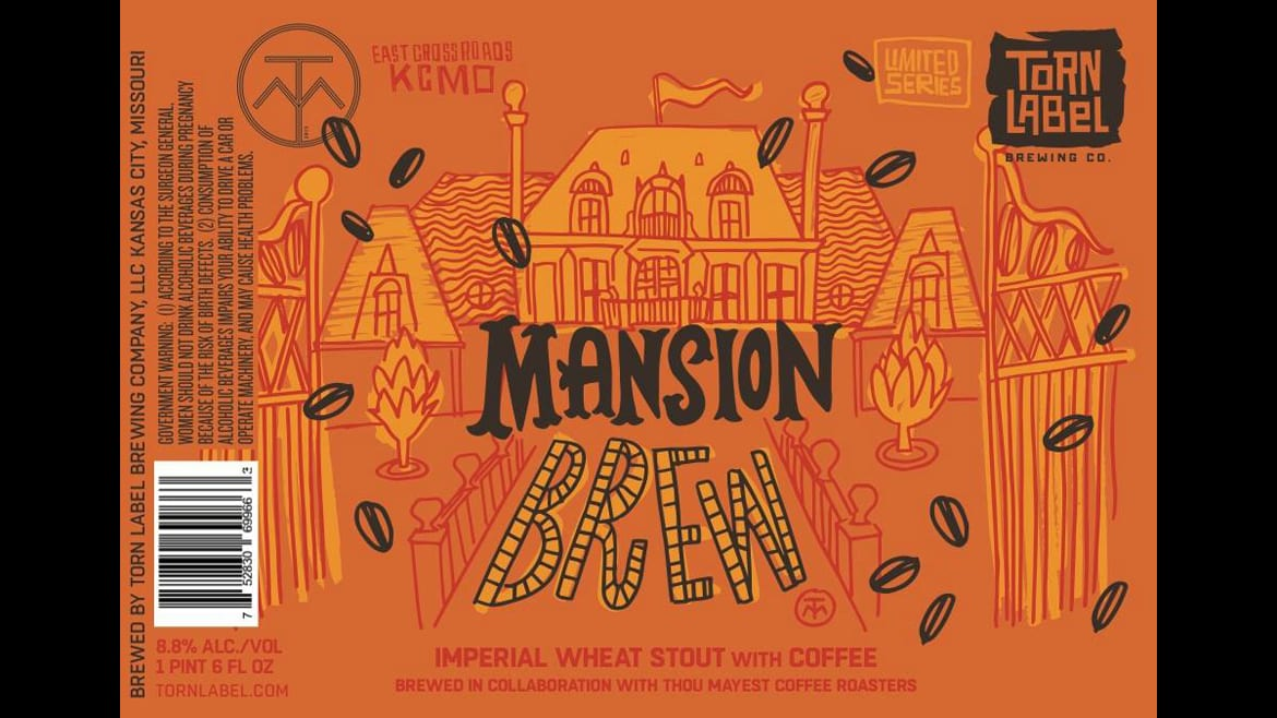 Torn Label Brewing's Mansion Brew