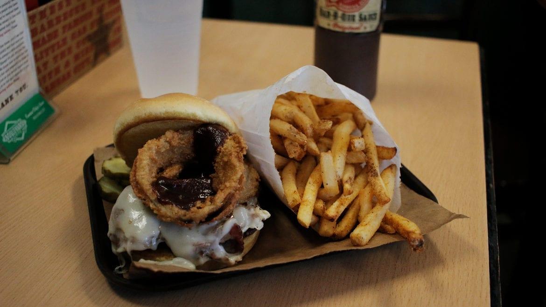 Joe's Kansas City's Z-man sandwich