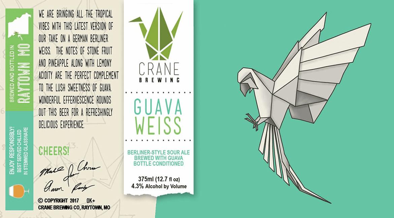 Crane Brewing's Guava Weiss