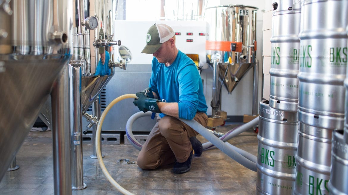 BKS Artisan Ales co-owner and brewer Brian Rooney