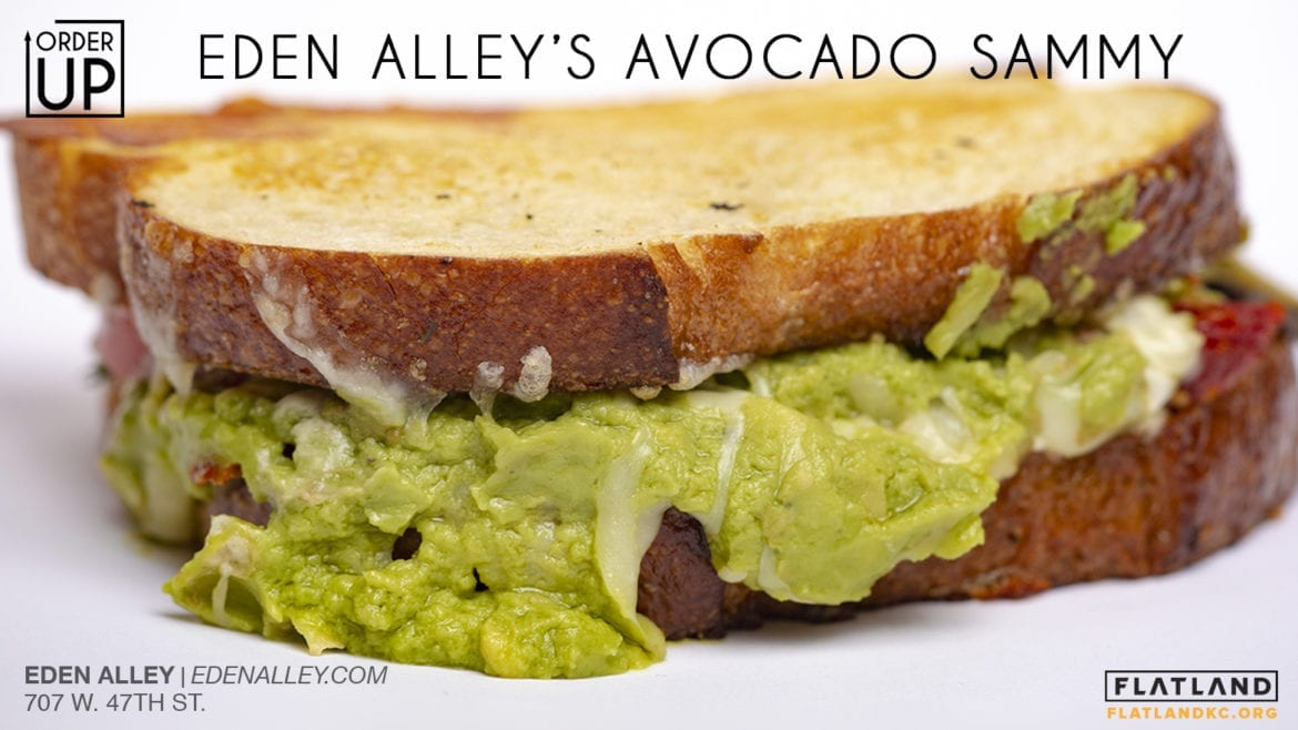 Eden Alley's Avocado Sammy