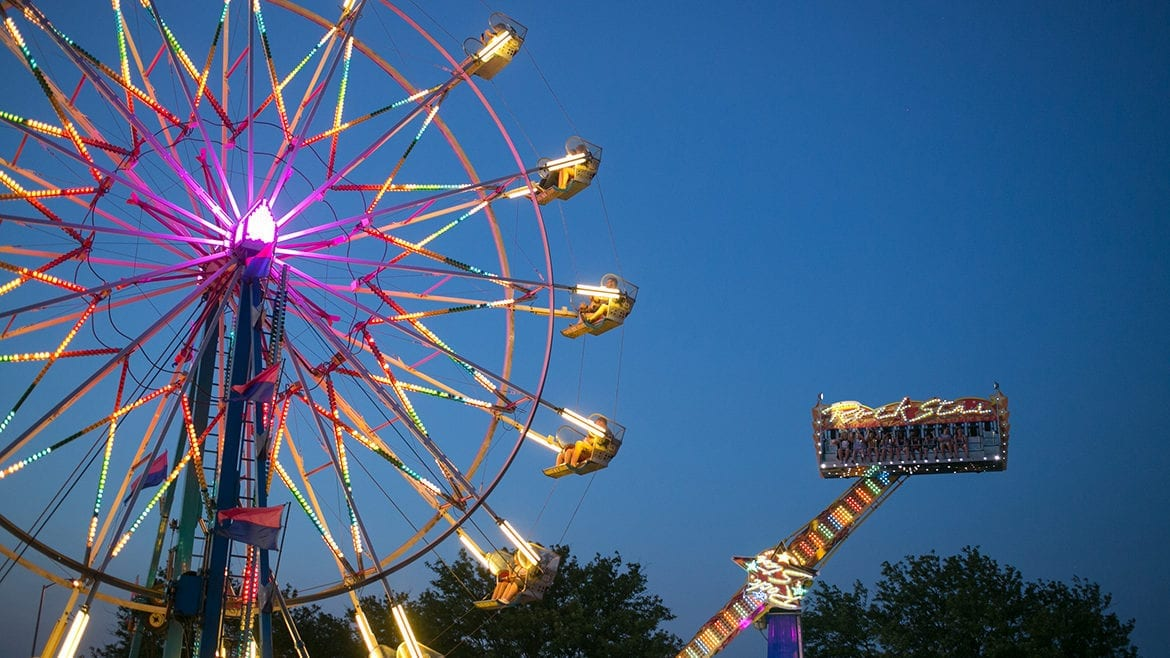 The Ferris wheel is one of the signature rides at Boulevardia.