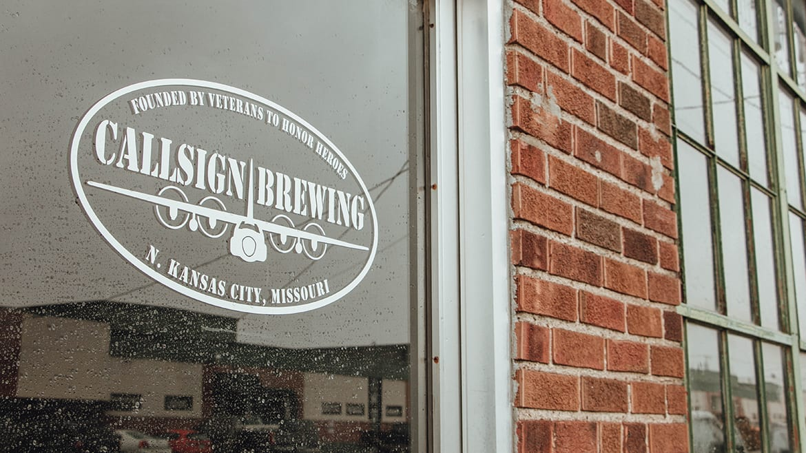 Callsign Brewing Co. sign